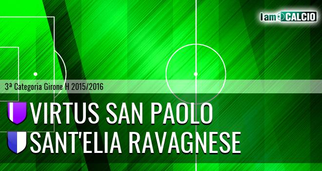 Virtus San Paolo - Sant'Elia Ravagnese