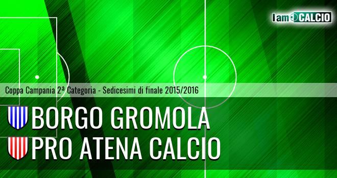 Borgo Gromola - Pro Atena Calcio