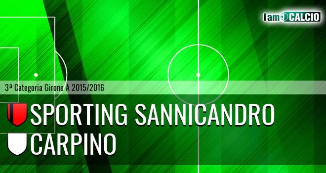 Sporting Sannicandro - Carpino
