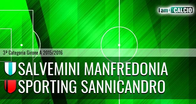 Salvemini Manfredonia - Sporting Sannicandro