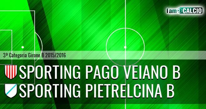 Sporting Pago Veiano B - Sporting Pietrelcina Juniores