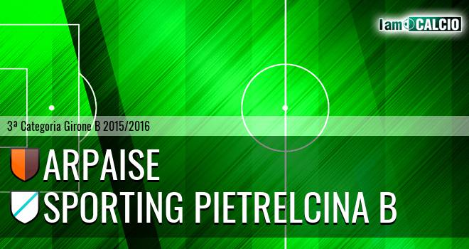 Arpaise - Sporting Pietrelcina Juniores