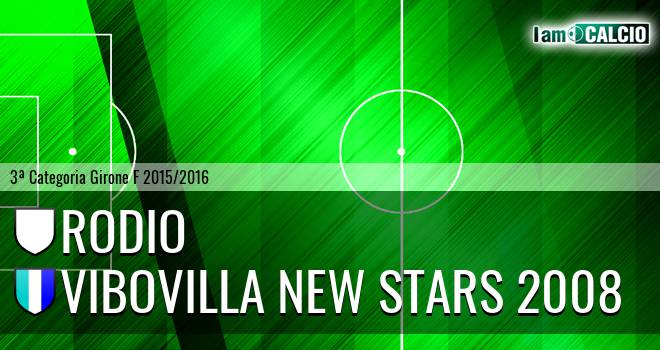 Rodio - Vibovilla New Stars 2008
