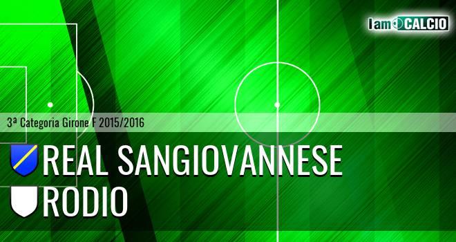 Real Sangiovannese - Rodio