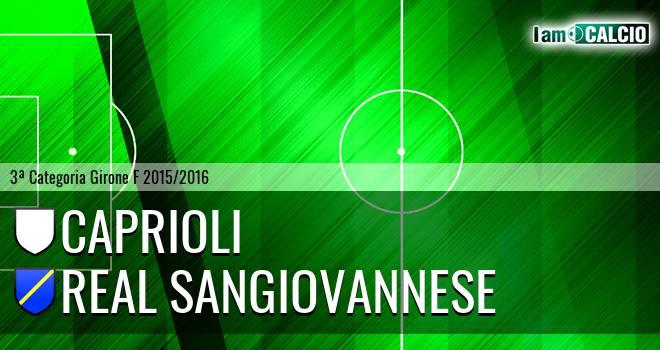 Caprioli - Real Sangiovannese