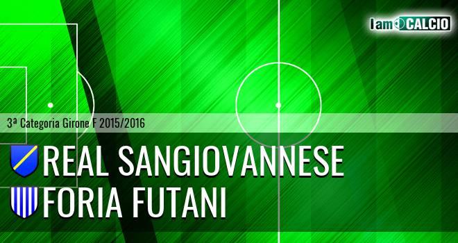 Real Sangiovannese - Foria Futani