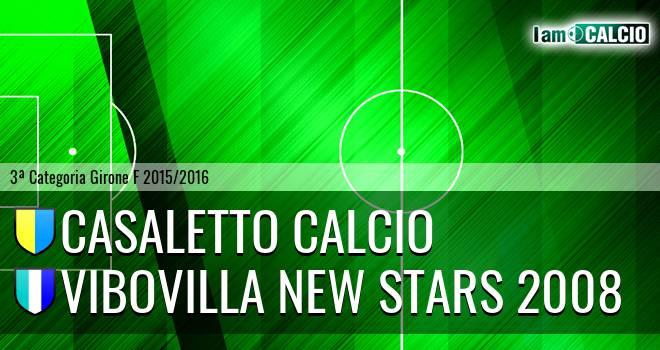 Casaletto Calcio - Vibovilla New Stars 2008