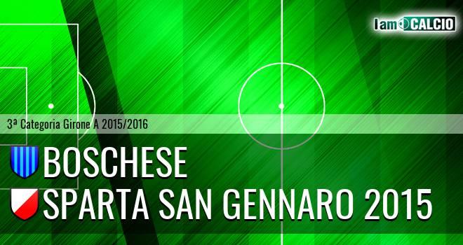 Boschese - Sparta San Gennaro 2015
