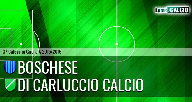 Boschese - Di Carluccio Calcio
