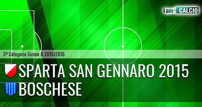 Sparta San Gennaro 2015 - Boschese