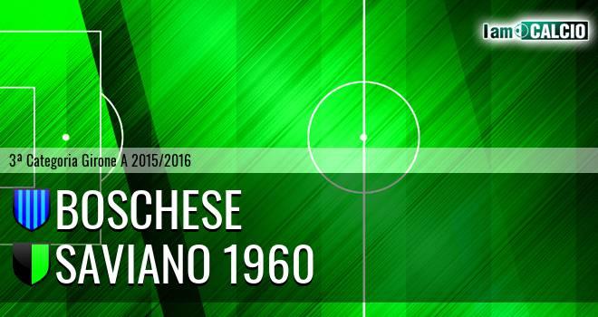Boschese - Saviano 1960