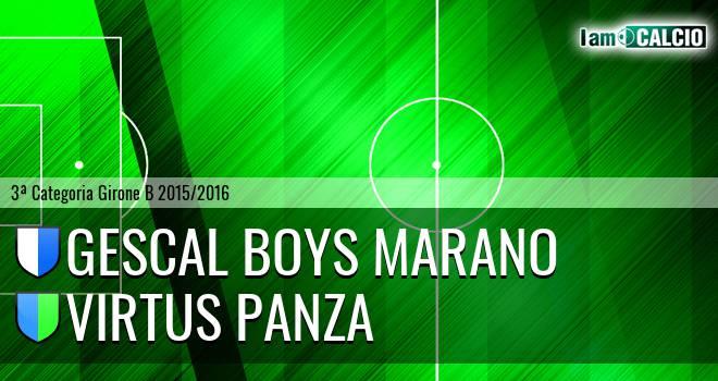 Città di Marano - Virtus Panza