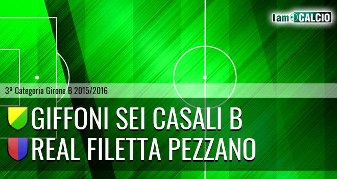 Giffoni Sei Casali B - Real Filetta Pezzano