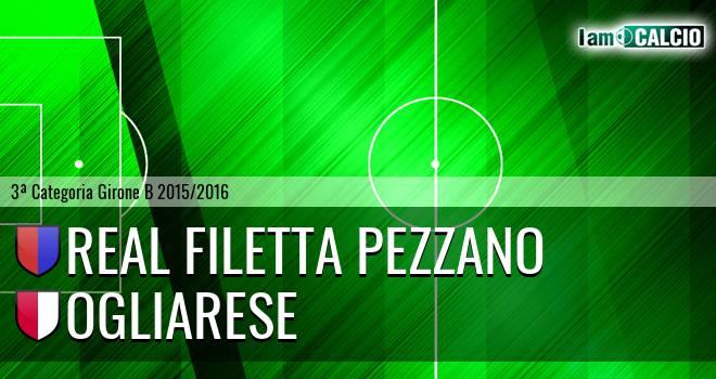 Real Filetta Pezzano - Ogliarese