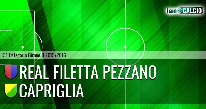 Real Filetta Pezzano - Capriglia