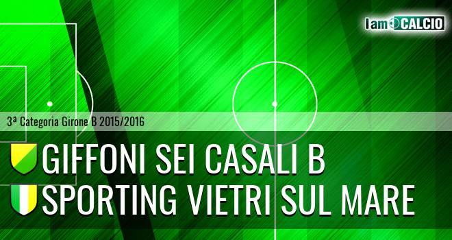 Giffoni Sei Casali B - Sporting Vietri Sul Mare