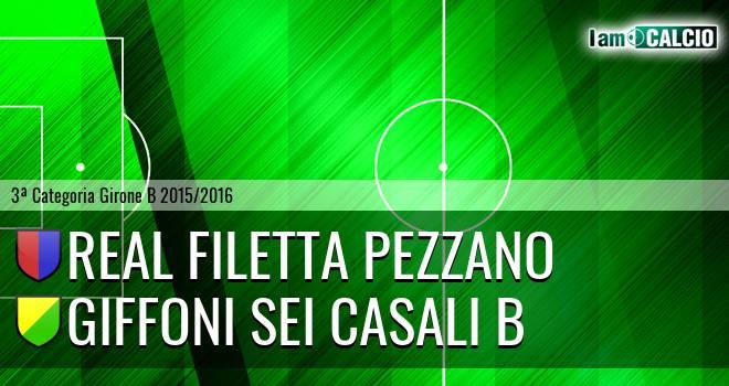 Real Filetta Pezzano - Giffoni Sei Casali B