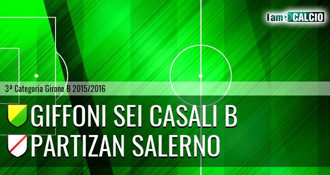 Giffoni Sei Casali B - Partizan Salerno