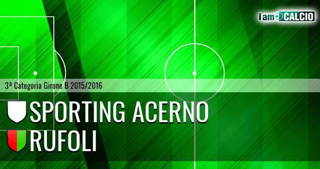 Sporting Acerno - Rufoli