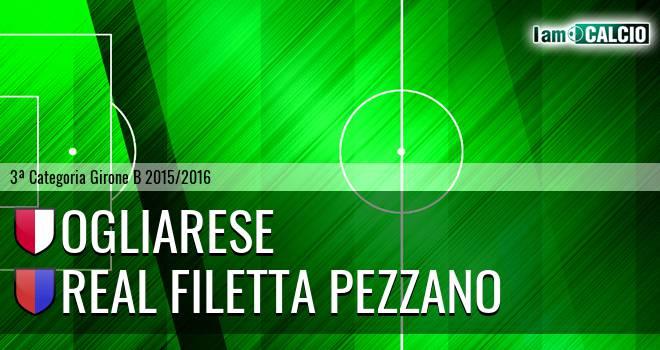 Ogliarese - Real Filetta Pezzano
