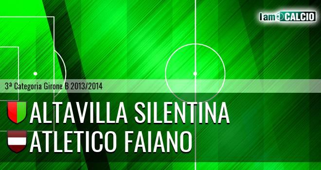 Altavilla Silentina - Atletico Faiano