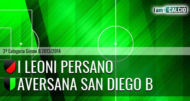 I Leoni Persano - Aversana San Diego B