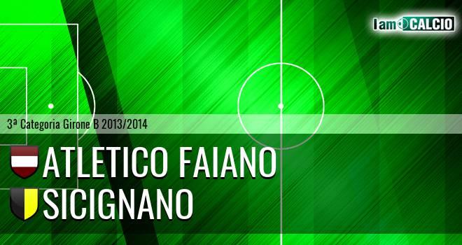 Atletico Faiano - Sicignano