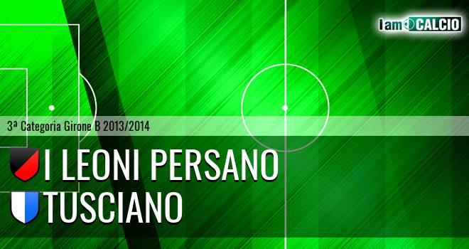 I Leoni Persano - Tusciano