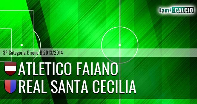Atletico Faiano - Real Santa Cecilia