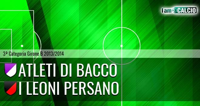 Atleti di Bacco - I Leoni Persano