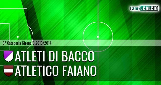 Atleti di Bacco - Atletico Faiano