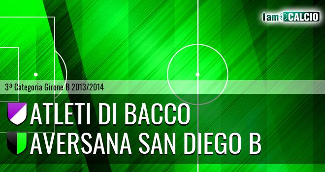 Atleti di Bacco - Aversana San Diego B