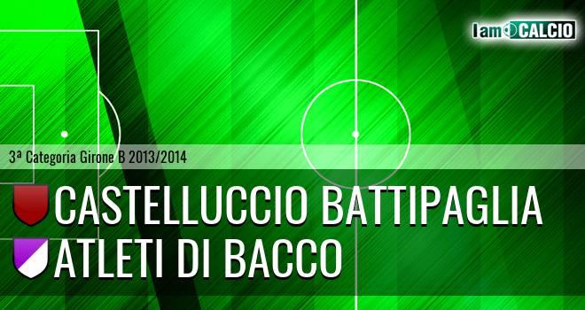 Castelluccio Battipaglia - Atleti di Bacco