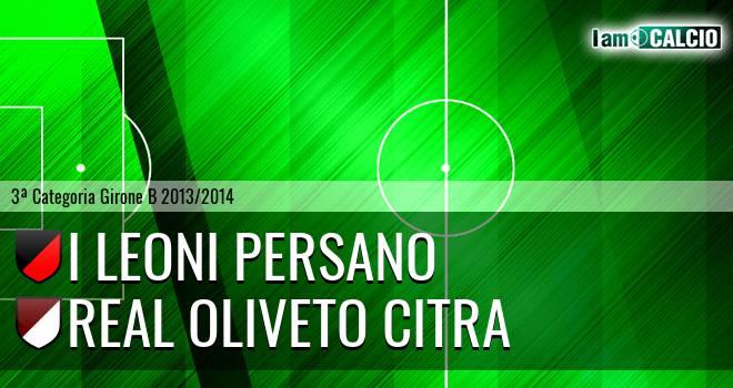 I Leoni Persano - Oliveto Citra