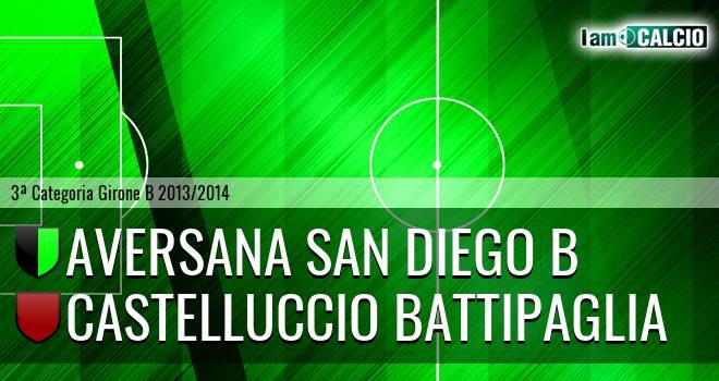 Aversana San Diego B - Castelluccio Battipaglia