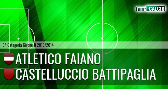 Atletico Faiano - Castelluccio Battipaglia