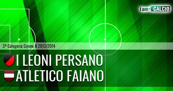 I Leoni Persano - Atletico Faiano