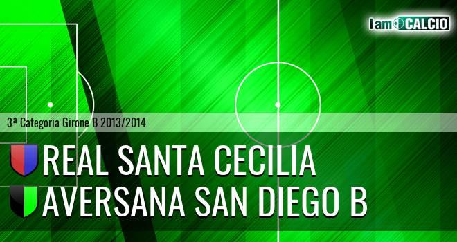 Real Santa Cecilia - Aversana San Diego B
