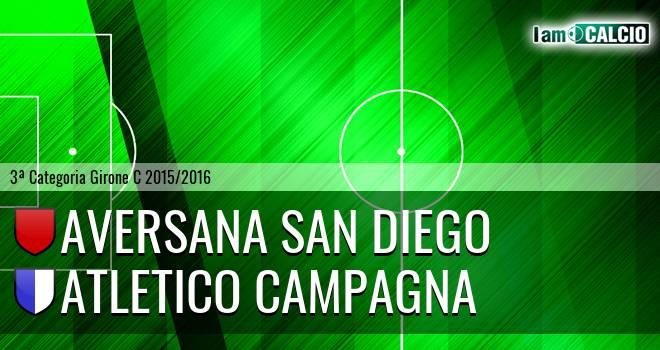 Aversana San Diego - Atletico Campagna