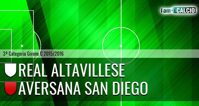 Real Altavillese - Aversana San Diego