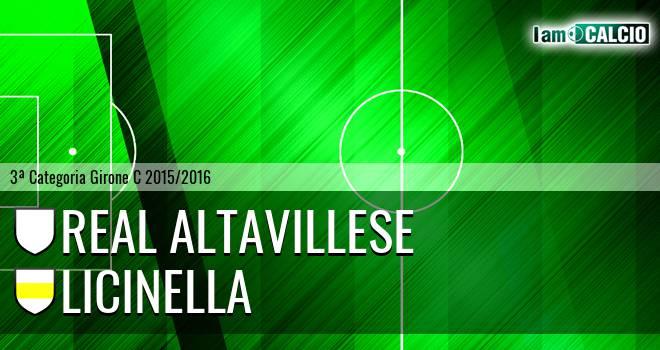 Real Altavillese - Licinella