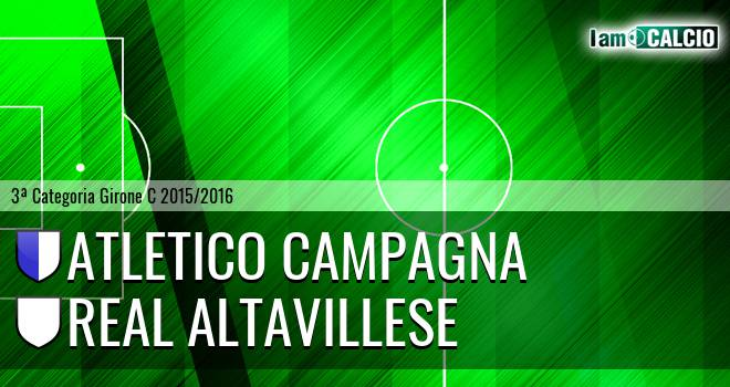 Atletico Campagna - Real Altavillese