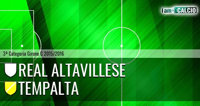 Real Altavillese - Tempalta