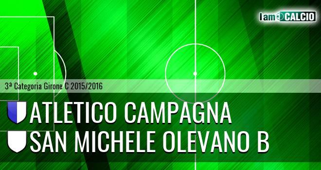 Atletico Campagna - San Michele Olevano B