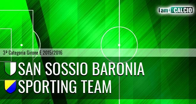 San Sossio Baronia - Sporting Team