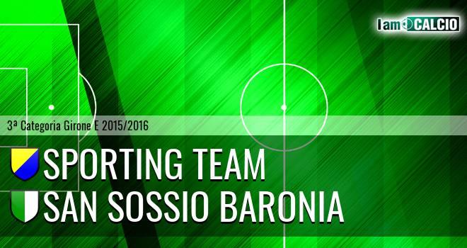 Sporting Team - San Sossio Baronia