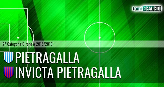Pietragalla - Invicta Pietragalla