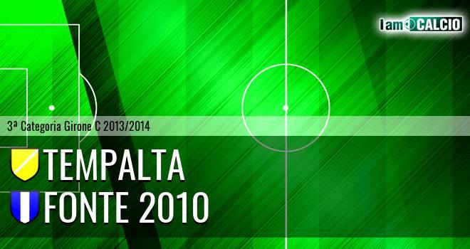 Tempalta - Fonte 2010