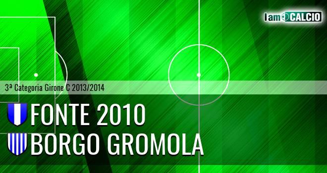 Fonte 2010 - Borgo Gromola
