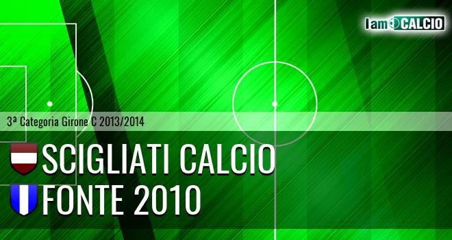 Scigliati Calcio - Fonte 2010